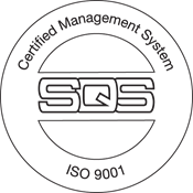 SQS ISO 9001 Certified Management System